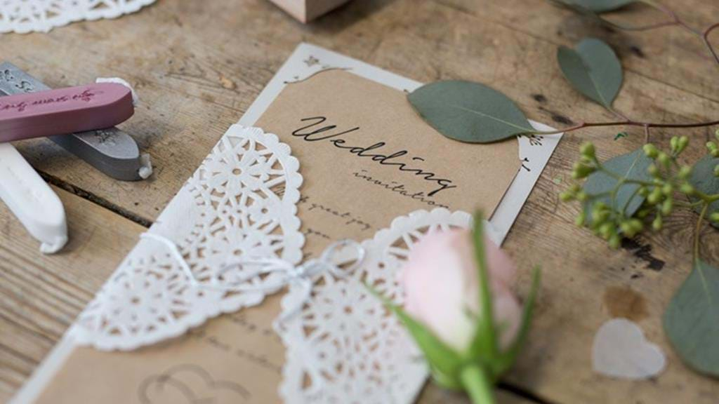 Diy Video Make Your Own Personal Wedding Invitations When The Invitations Are Handmade The Party Will Turn Out Even Better Believes Anna Sostrene Grene